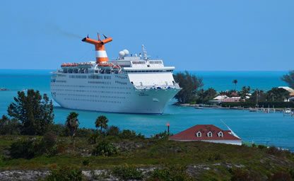 Port of Palm Beach Grand Celebration cruise to Freeport Bahamas