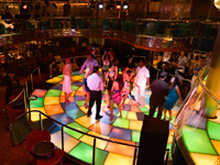 Dancing on the Regal Bahama Cruise
